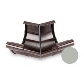 Кут внутрішній 135 градусів Galeco PVC 150/100 148 мм світло-сірий