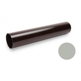 Водостічна труба Galeco PVC 150/100 100х4000 мм світло-сірий