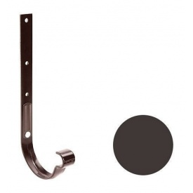 Кронштейн ринви металевий Galeco PVC 150/100 148х335 мм темно-коричневий
