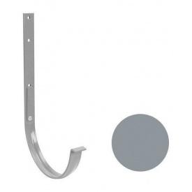 Кронштейн ринви металевий Galeco PVC 180/125 183х385 мм світло-сірий