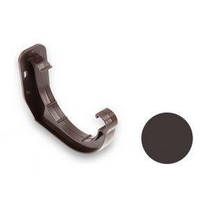 Кронштейн желоба ПВХ Galeco PVC 90/50 90 мм темно-коричневый