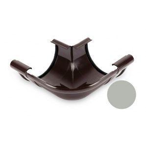 Угол внутренний 90 градусов Galeco PVC 150/100 148х242 мм светло-серый