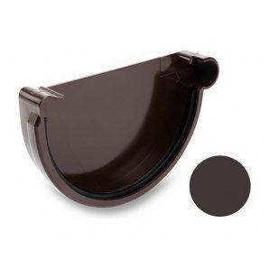 Заглушка права Galeco PVC 150/100 148 мм темно-коричневий