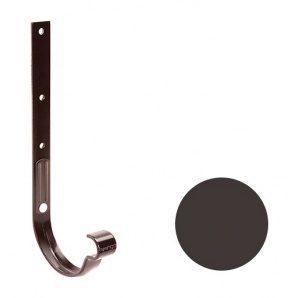 Кронштейн желоба металлический Galeco PVC 150/100 148х335 мм темно-коричневый