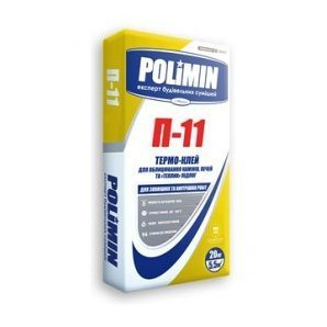 Клейова суміш Polimin Термо-клей П-11 20 кг