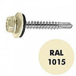 Саморез по металлу Gunnebo Info-Global 4,8х19 мм RAL 1015 250 шт