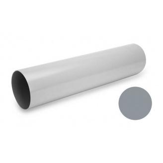 Водостічна труба Galeco PVC 180/125 125х4000 мм світло-сірий