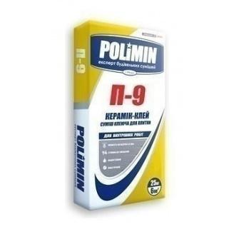 Клеевая смесь Polimin Керамик клей П-9 25 кг