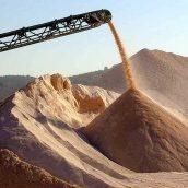 Пісок митий фракції 0-5 мм 1 т