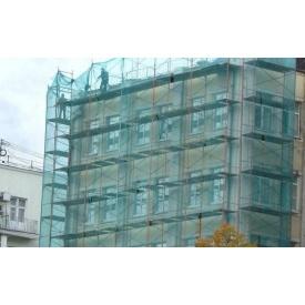 Сетка защитная фасадная зеленая