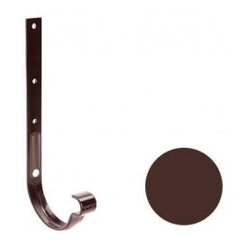 Кронштейн ринви металевий Galeco PVC130 130 мм (RE130-HG-D) шоколадно-коричневий