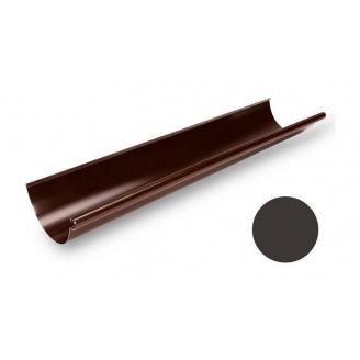 Желоб водосточный Galeco STAL 150/100 153х4000 мм темно-коричневый