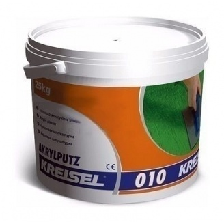 Штукатурка KREISEL Akrylputz 010 короед 2 мм 25 кг