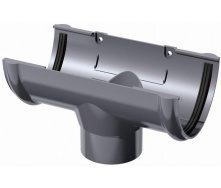 Воронка желоба ТехноНИКОЛЬ 125/82 мм серый