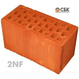 Керамический пустотелый блок СБК 2NF М-100 138х120х250 мм