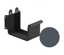 Соединитель желоба Galeco STAL 2 125/80 125 мм графитовый