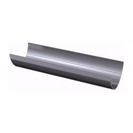 Желоб водосточный ТехноНИКОЛЬ 125 мм 3 м серый