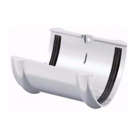 З'єднувач жолоба ТехноНІКОЛЬ 125 мм білий