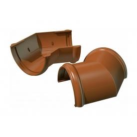 Угол желоба ТехноНИКОЛЬ 135 градусов 125 мм коричневый