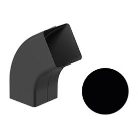 Коліно 72 градуси Galeco STAL 2 125/80 80х80 мм чорний