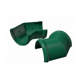 Угол желоба ТехноНИКОЛЬ 135 градусов 125 мм зеленый