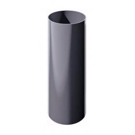 Труба водосточная ТехноНИКОЛЬ 82 мм 3 м серый