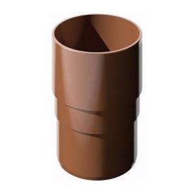 Муфта труби ТехноНІКОЛЬ 82 мм коричневий