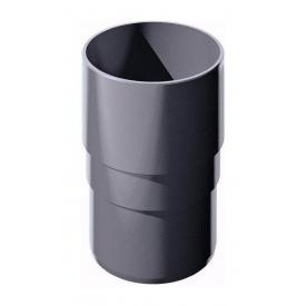Муфта труби ТехноНІКОЛЬ 82 мм сірий
