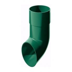 Злив труби ТехноНІКОЛЬ 82 мм зелений