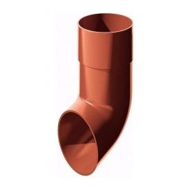 Злив труби ТехноНІКОЛЬ 82 мм червоний
