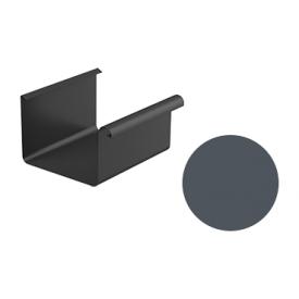 Ринва водостічна Galeco STAL 2 125/80 125х4000 мм графітовий