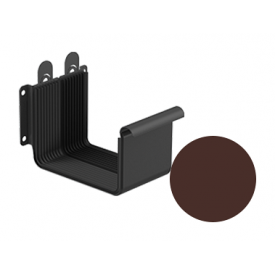 З'єднувач ринви Galeco STAL 2 125/80 125 мм шоколадно-коричневий