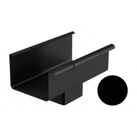 Лійка Galeco STAL 2 125/80 80х125 мм чорний