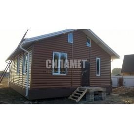 Строительство канадского дома из сип панелей