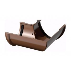 Кут ринви ТехноНІКОЛЬ 90 градусів 125 мм коричневий