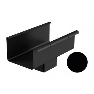Воронка Galeco STAL 2 125/80 80х125 мм черный