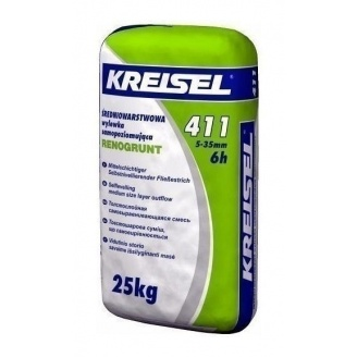 Смесь KREISEL Fliess-Bodenspachtel 411 25 кг