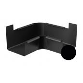 Угол внутренний 90 градусов Galeco STAL 2 125/80 125 мм черный