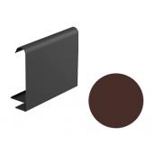 Декоративная планка для софита Galeco STAL 2 125/80 107х295х2000 мм шоколадно-коричневый