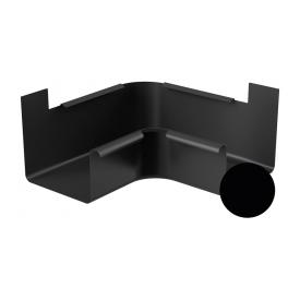Кут внутрішній 90 градусів Galeco STAL 2 125/80 125 мм чорний