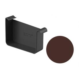 Заглушка права Galeco STAL 2 125/80 125 мм шоколадно-коричневий