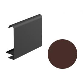 Декоративна планка для софіту Galeco STAL 2 125/80 107х295х2000 мм шоколадно-коричневий