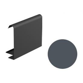 Декоративна планка для софіту Galeco STAL 2 125/80 107х295х2000 мм графітовий
