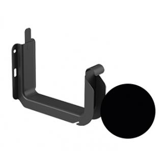 Кронштейн желоба универсальный Galeco STAL 2 125/80 125 мм черный