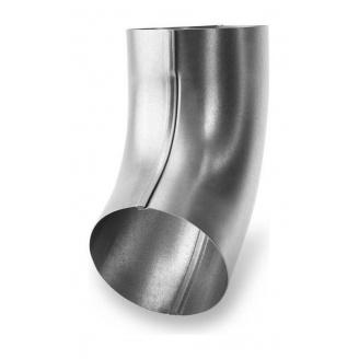 Коліно 72 градуси Galeco LUXOCYNK 150/120 120 мм срібний