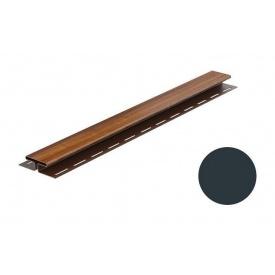 Монтажная планка для софита Galeco DECOR тип H 4000 мм графитовый