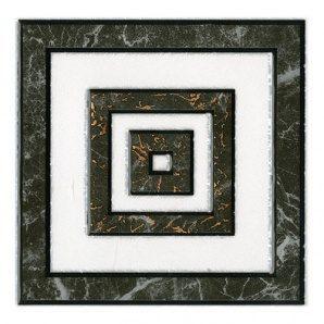 Декор Inter Cerama ALON 13,7x13,7 см серый