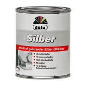 Эмаль Dufa Silber 0,125 л серебристый