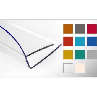 Пристінний профіль Кайлас-СМ 6,0 м прозорий