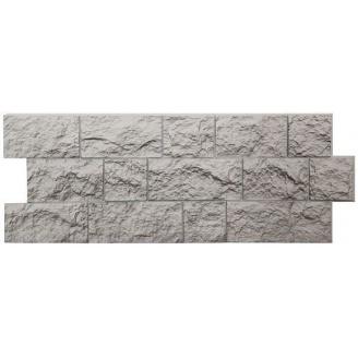 Фасадная панель Docke FELS скала 1,15х0,45 м жемчужный